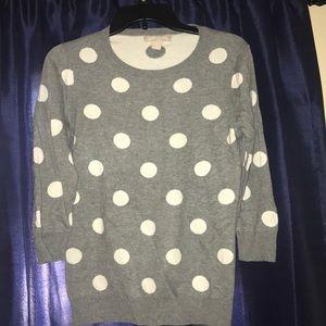 Banana Republic polka dot sweater- S